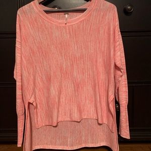 Tops - Long sleeve hi-low top